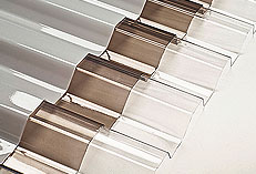 Corrugated Polycarbonate Panels