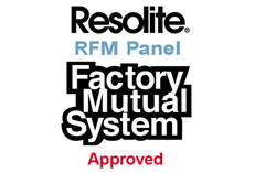 Resolite RFM Panel Factory Mutual System Approved